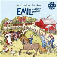 Emil och djuren som låter (Board book, 2016)