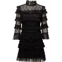 By Malina Carmine Mini Dress Black