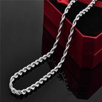 Halsband singapore kedja rostfritt stainless steel 316l