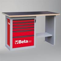Arbetsbänk Med 6 Lådor Kort Modell Beta Tools