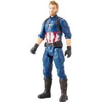 "Hasbro 12/"" 30cm  Marvel The Avengers Titan Hero Series Captain America figure."
