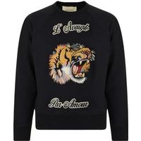 Gucci Cotton Sweatshirt - Black Cotton