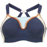 Cake Maternity Zest Flexi Wire High Impact Maternity & Nursing Sports Bra Navy Blue