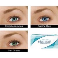 ögonlinser färgade utan styrka