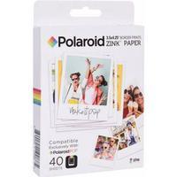 Polaroid Instant Zink Media 3.5x4.25 POP 40-Pack