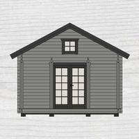 Baseco Hemfjäll (Byggnadsarea 25 m²) Stugpaket
