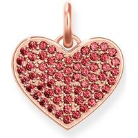 Thomas Sabo Heart Pink Charm Sterling Silver