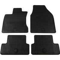 vidaXL Bilmattor set gummi 4 delar för Nissan Qashqai