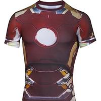Under Armour Alter Ego Iron Man Compression Shirt 1268260-609, Herr, Red