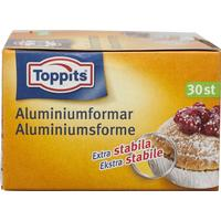Toppits Aluminiumformar 30 p
