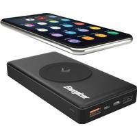ROCK QI Trådlös laddare Power Bank 5V 2A 5W Externt batteri med digital display Powerbank för iphone X 8 Samsung S8 Obs 8