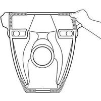 Dämpningslist till vägghängda toaletter universal