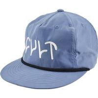 Cult 5-Panel Cap (Blue Logo)