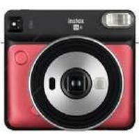 Fujifilm Instax SQUARE SQ6 - Instant camera - objektiv: 65.75 mm Rubinröd
