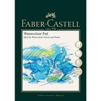 Faber-Castell Akvarellblock Faber-Castell 300gr Spiral - A4