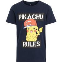 Name It Kid's Pokémon T-shirt - Blue/Dark Sapphire (13178765)