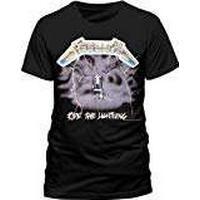 Probity Metallica Ride The Lightning Men's T-Shirt Black Large