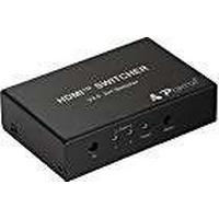 Portta 4K 5-Port HDMI Switch Auto Switch HDMI Switcher 5 Input 1 Output HDMI Splitter V2.0 with IR Remote Support Full HD 3D 4K@60Hz 4:4:4 HDCP2.2 HDR for PS4 PRO//Xbox One//Blu-ray Player// Roku etc