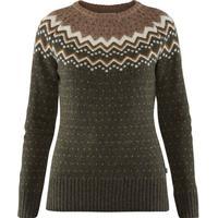 Fjällräven Övik Knit Sweater W Deep Forest