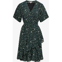 Whyred Danica Solid Dress Jungle