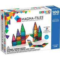 Magna-Tiles Clear Colors 552 PCS Toys Building Toys Creative Construction Buildi