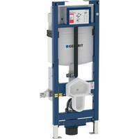Geberit Duofix Element För Vägghängd WC, 112 cm, Med Sigma Inbyggnadscistern 12 cm, HWC, WC, Justerbar Höjd