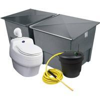 Separett Toalettpaket Urinsep. Villa 9010 Kompost