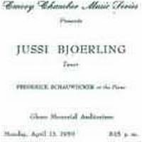 Björling Jussi - Atlanta Recital 1959
