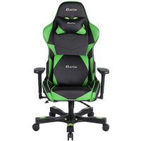 Clutch Chairz Crank Series Charlie Gaming Chair BlackGreen
