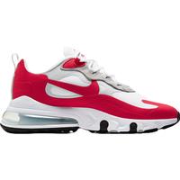 Nike Air Max 270 React M WhitePure PlatinumBlackUniversity Red