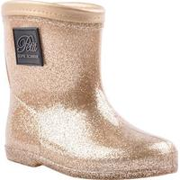 Petit by Sofie Schnoor Rubber Boot GuldChampagne • Se
