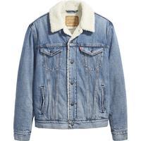 Urban Classics Sherpa Denim Jacket (Herr) Hitta bästa pris