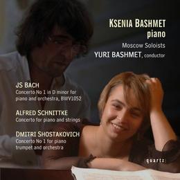 Ksenia Bashmet - Bach: Piano Concerto 1; Schnittke: Concerto; Shostakovich: Concerto 1