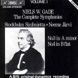 Gade - Symphonies 3 & 4