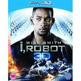 I Robot (Blu-ray 3d + Blu-ray + Dvd (3D DVD)