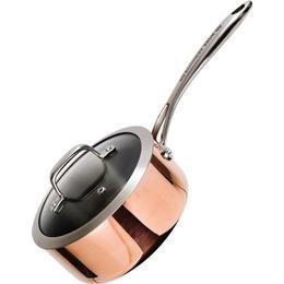 Ronneby Bruk Maestro Copper Kastrull med lock 2 L 18 cm