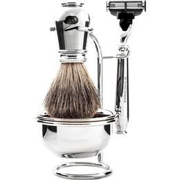 Benjamin Barber Nobel 4-part Shaving Set Chrome Set without Razor