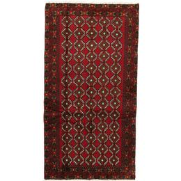 CarpetVista RZZZS351 Beluch (101x185cm) Flerfärgad