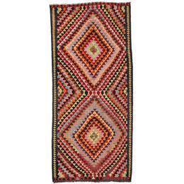 CarpetVista XVZR1334 Kelim Fars (143x312cm) Flerfärgad