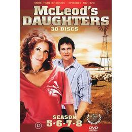 McLeod's daughters: Säsong 5-8 (30DVD) (DVD 2015)