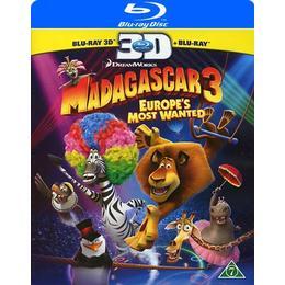 Madagaskar 3 3D (Blu-ray 3D + Blu-ray) (3D Blu-Ray 2012)