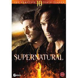 Supernatural: Säsong 10 (6DVD) (DVD 2015)