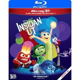 Insidan ut 3D (Blu-ray 3D + Blu-ray) (3D Blu-Ray 2015)