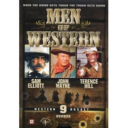 Men of western - Western edition - 9 filmer (9DVD) (DVD 2014)