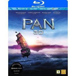 Pan 3D (Blu-ray 3D + Blu-ray) (3D Blu-Ray 2015)