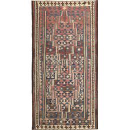 CarpetVista AXVG128 Kelim Fars (158x318cm) Flerfärgad