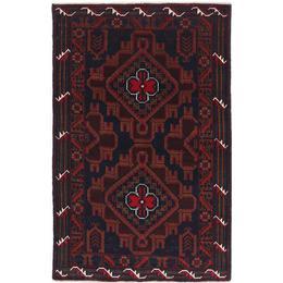 CarpetVista NAZB3475 Beluch (85x135cm) Flerfärgad