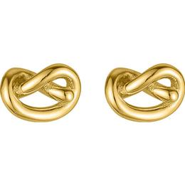 Sophie By Sophie Knot Studs - Gold