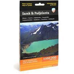 Sarek & Padjelanta (1:100 000) (Övrigt format, 2015)