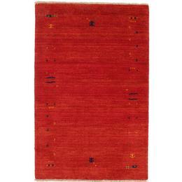 RugVista CVD5620 Gabbeh Loom (100x160cm) Röd